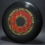 ULTRA-STAR GRATEFUL DISC ROSES Black w/  red & gold metallic