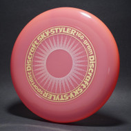 Sky-Styler Sun Pink w/ White Matte Sun and Metallic Gold Ring - TR - Top View