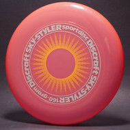 Sky-Styler Sun Pink w/ Yellow Matte Sun and Silver Matte Ring - T80 - Top View