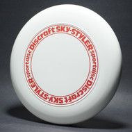 Sky-Styler Stock Open Center Original Stamp White w/ Red Metallic Ring - TR