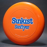 Sky-Styler Sunkist Sunflyer Orange w/ Blue and White Matte - NT - Top View