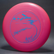 Sky-Styler Stinson Pelicans Pink w/ Metallic Blue - T80 - Top View