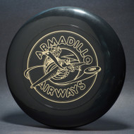 Sky-Styler Armadillo Airways Black w/ Metallic Gold - T80 - Top View