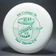Sky-Styler Ashleys Ice Cream New Haven Ct White w/ Green Matte - TR - Top View