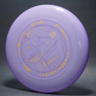 Sky-Styler 1982 Colorado State Frisbee Championships Purple w/ Yellow and Purple Matte - T80 - Top View