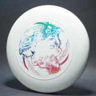 Sky-Styler Rasta Trio White w/ Metallic Rainbow-T80 - Top View