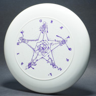 Sky-Styler Grateful Disc Skeletons and Rose White w/ Metallic Purple -T80 - Top View