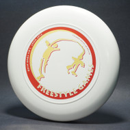 Sky-Styler Freestyle Games White w/ Red Matte and Metallic Yellow-Green-T2000s - Top View