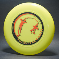 Sky-Styler Freestyle Games Bright Green w/ Black Matte and Metallic Red-T2000s - Top View