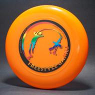 Sky-Styler Freestyle Games Bright Orange w/ Black Matte and Metallic Rainbow-T2000s - Top View