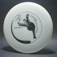 Sky-Styler www.frisbee.co.il Freestyle a Flow of Creation Clear w/ Black Matte - T2000s - Top View