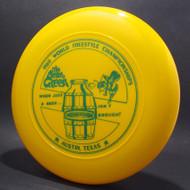 Sky-Styler 1980 World Freestyle Austin Yellow w/ Green Matte - TR - Top View