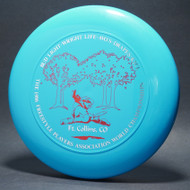 Sky-Styler 1986 FPA World Championships Blue w/ Metallic Silver and Red Matte - T80 - Top View