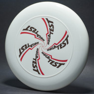 Sky-Styler MegaTest White w/ Black and Red Matte - T2000s - Top View