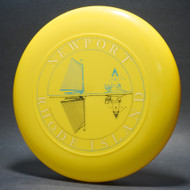 Sky-Styler Newport Rhode Island Yellow w/ Black Matte; Gold and Blue Foil (3 color) T80 Top View
