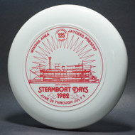 Sky-Styler Winona Mn 1982 Steamboat Days White w/ Red Matte - T80 - Top View