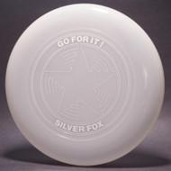 Sky-Styler Go For It! Silver Fox Star Clear w/ Metallic Silver - TR - Top View