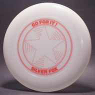 Sky-Styler Go For It! Silver Fox Star Clear w/ Red Matte - TR - Top View