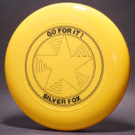 Sky-Styler Go For It! Silver Fox Star Yellow w/ Black Matte - TR - Top View