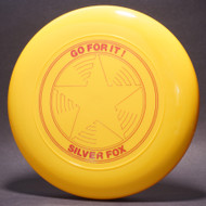 Sky-Styler Go For It! Silver Fox Star Yellow w/ Metallic Red - TR - Top View
