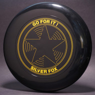 Sky-Styler Go For It! Silver Fox Star Black w/ Yellow Matte - TR - Top View
