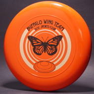 Sky-Styler Buffalo Wing Team Disc Sports Club Orange w/ Metallic Gold and Black Matte - TR - Top View