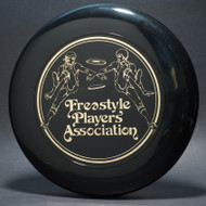 Sky-Styler Original FPA Freestyle Players Association Logo Black w/ Metallic Gold - TR - Top View