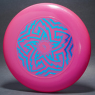 Sky-Styler FPA 1995 Tour Disc Pink w/ Metallic Blue - T90 -Top View