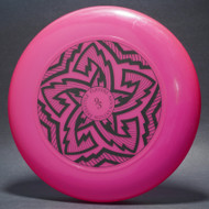 Sky-Styler FPA 1995 Tour Disc Pink w/ Black Matte - T90 - Top View