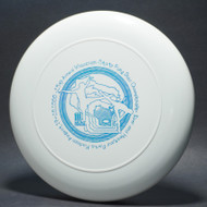 Sky-Styler 1986 MFA Minnesota Frisbee Association White w/ Metallic Blue - T80 - Top View