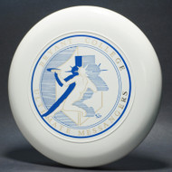 Sky-Styler Bryant College Ultimate Messangers White w/ Metallic Gold and Blue Matte - TR - Top View