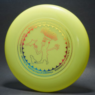 Sky-Styler 2003 Inaugural FPA European Worlds Bright Yellow w/ Metallic Rainbow - T80 - Top View