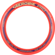 "Aerobie PRO FLYING RING - 13"" Assorted Colors - top view of red ring"