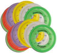 Wham-O COASTER FRISBEE 12 PACK - Set of Twelve Flying Disc Rings