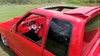 94-01 Chevy/GMC S10 & Sonoma Ext Cab Sliding Ragtop Folding Sunroof Kit Installed Top