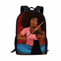 Violin and Cat Backpack