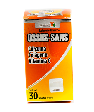 Ossos Sans de Naturacastle alivio al dolor e inflamacion.