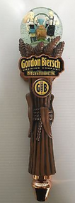 Vintage Maibock Snow Globe Tap Handle