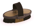 *Equestria Oval Brush - Black and Gold 7 1/2 inch with Handle