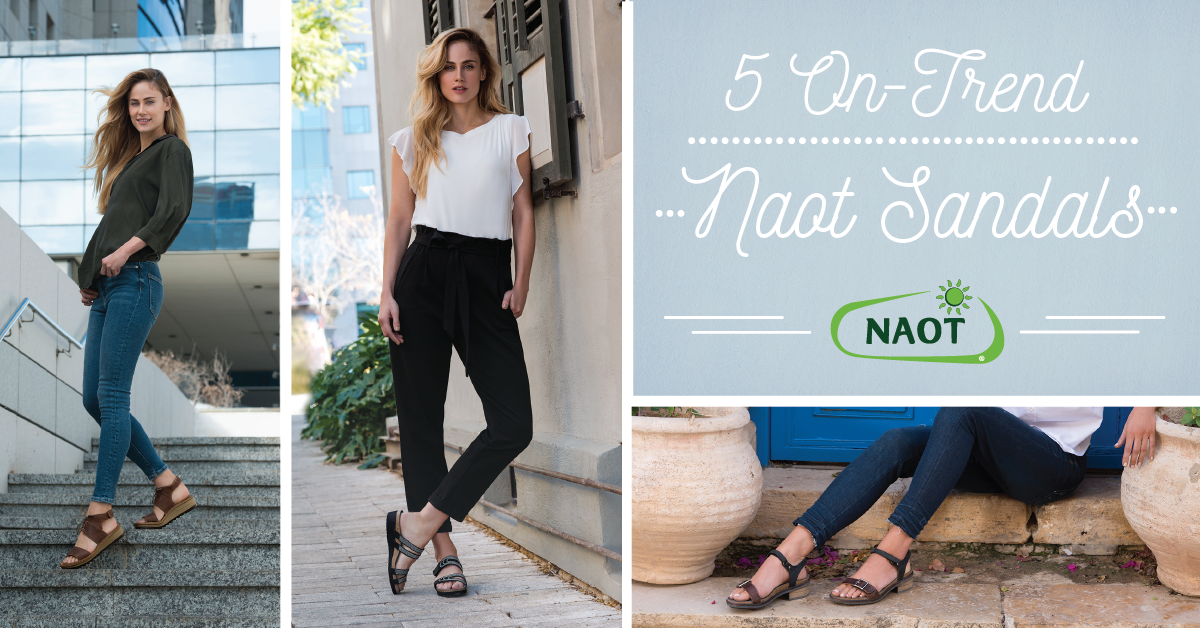 5 On-Trend Naot Sandals to Refresh Your