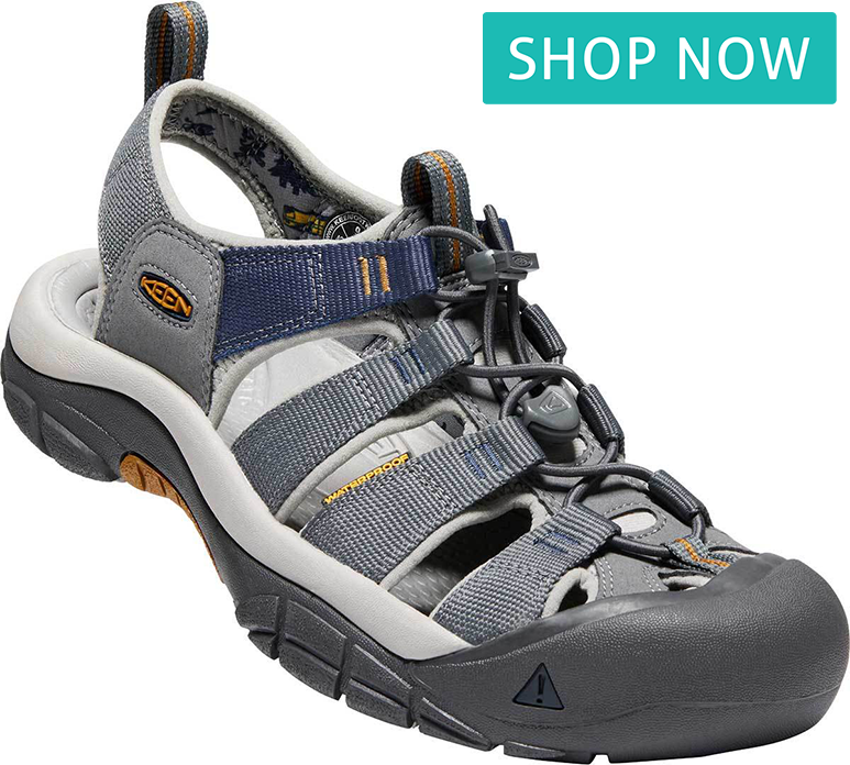 KEEN Men's Newport Hydro in Steel Gray/Paloma