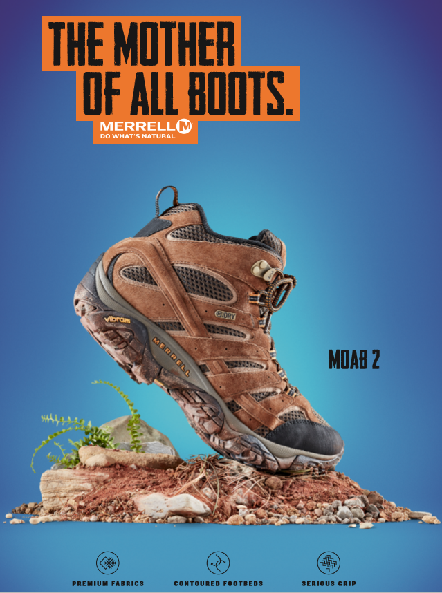 Merrell Moab 2: Mother of All Boots