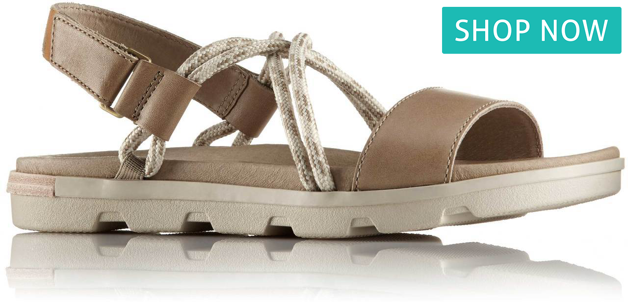 Torpeda Sandal II in Sandy Tan/Fawn