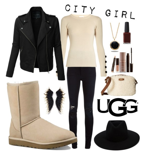 UGG Classic Short II in Sand: City Girl