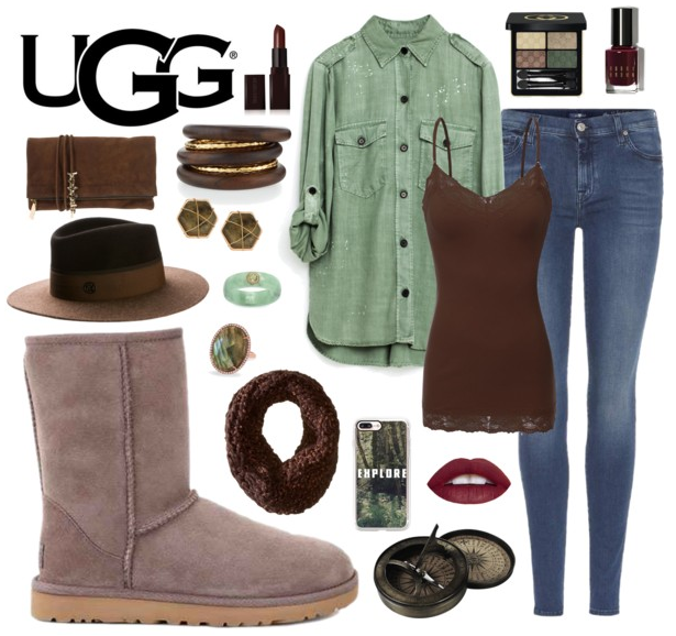UGG Classic Short II in Stormy Grey: Earth Tones