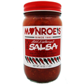 Monroe's All Natural Salsa  -  CASE   (Twelve 16 oz. Jars)
