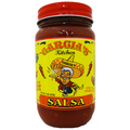 Garcia's Medium Hot Salsa -  CASE  (twelve 16 oz. Jars)