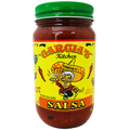 Garcia's Hot Salsa - CASE (twelve 16 oz. Jars)
