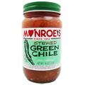 Monroe's Green Chile  Sauce - CASE  (twelve 16 oz. Jars)