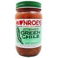 Monroe's Green Chile  Sauce - CASE  (twelve 16 oz. Jars)